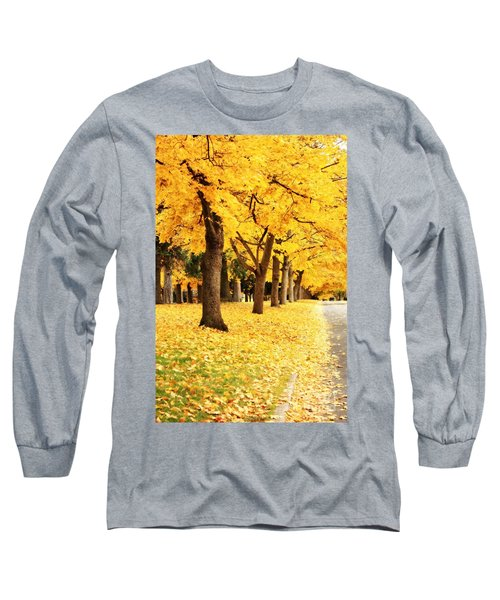 Autumn Perspective Long Sleeve T-Shirt