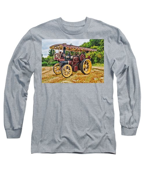 Aveling And Porter Showmans Tractor Long Sleeve T-Shirt