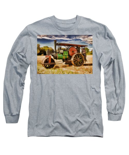 Aveling Porter Road Roller Long Sleeve T-Shirt