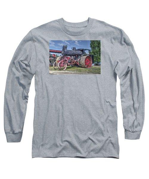 Avery 40 Hp  Long Sleeve T-Shirt by Shelly Gunderson
