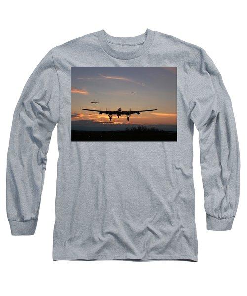 Avro Lancaster - Dawn Return Long Sleeve T-Shirt
