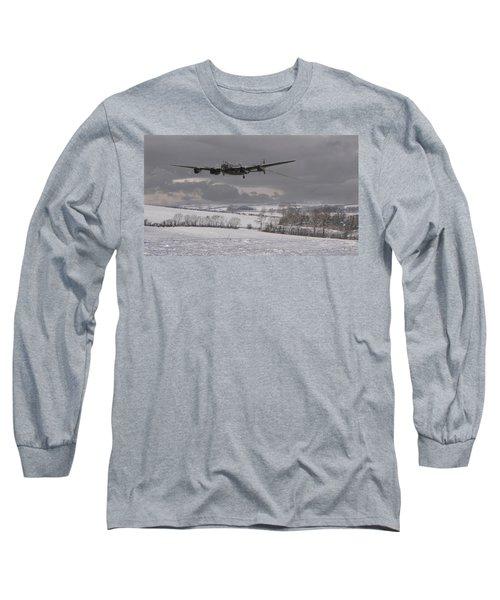 Avro Lancaster - Limping Home Long Sleeve T-Shirt