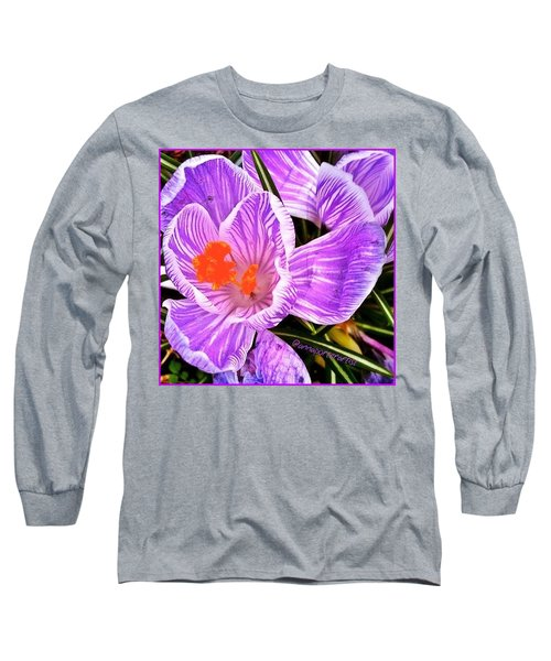 Awakening #flowers #spring #bulbs Long Sleeve T-Shirt