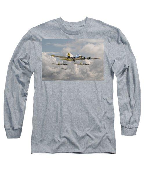 B17 486th Bomb Group Long Sleeve T-Shirt
