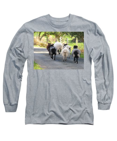 Long Sleeve T-Shirt featuring the photograph Ba Ba Blacksheep by Suzanne Oesterling