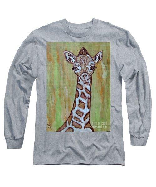 Baby Longneck Giraffe Long Sleeve T-Shirt