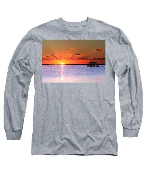 Back Bay Sunrise Long Sleeve T-Shirt