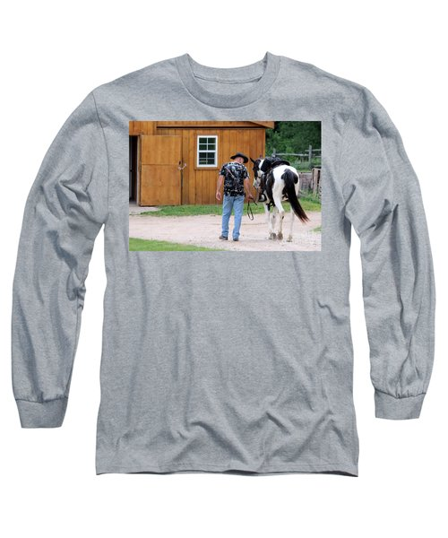 Back To The Barn Long Sleeve T-Shirt