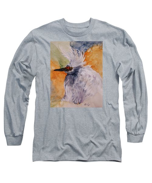 Bad Hair Day Long Sleeve T-Shirt by Lil Taylor
