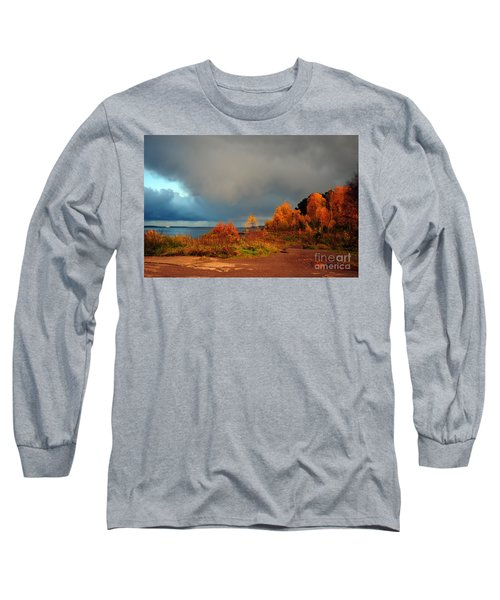 Bad Weather Coming Long Sleeve T-Shirt by Randi Grace Nilsberg