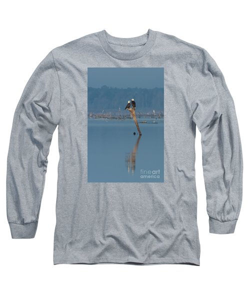 Bald Eagle Pair Long Sleeve T-Shirt