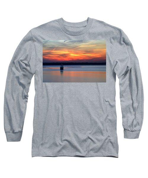 Baltimore Light At Gibson Island Long Sleeve T-Shirt
