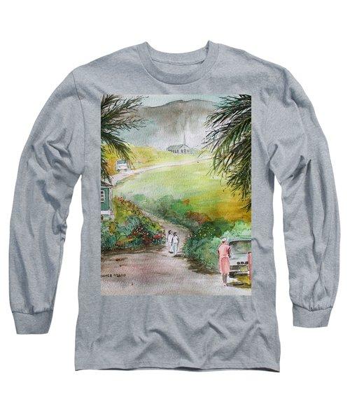 Barbados Long Sleeve T-Shirt by Frank Hunter