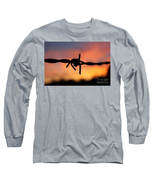 Barbed Silhouette Long Sleeve T-Shirt by Vicki Spindler