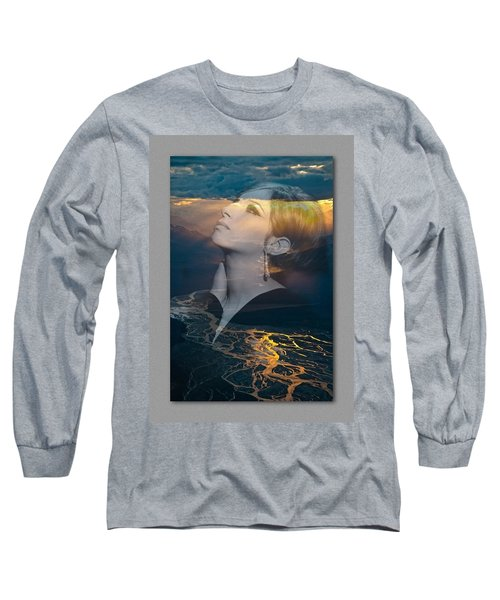 Barbra's Vision Long Sleeve T-Shirt by Richard Laeton