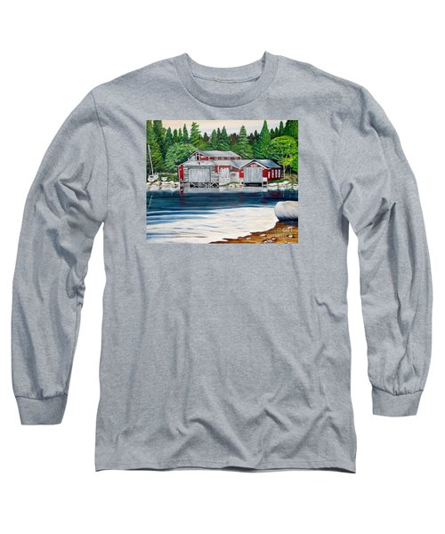 Barkhouse Boatshed Long Sleeve T-Shirt