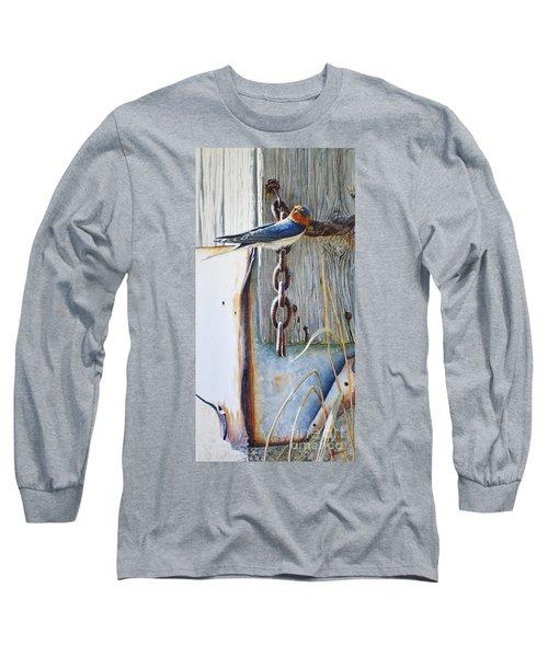 Barn Swallow Long Sleeve T-Shirt