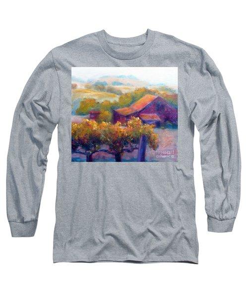 Barn Vineyard Long Sleeve T-Shirt