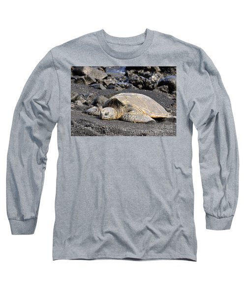 Basking In The Sun Long Sleeve T-Shirt by David Lawson