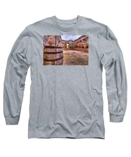 Long Sleeve T-Shirt featuring the photograph Battalion Barrell by Tim Stanley