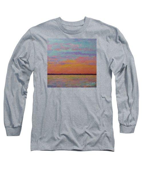 Bay Sunset Long Sleeve T-Shirt by Gail Kent