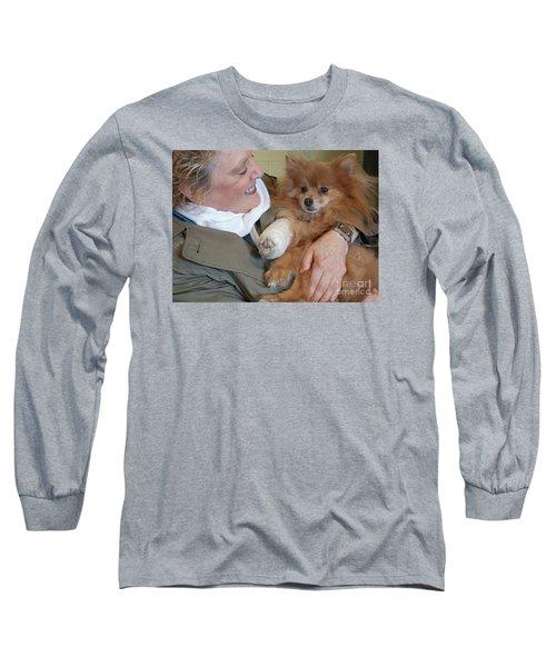 Be Better Soon Long Sleeve T-Shirt by Ann Horn