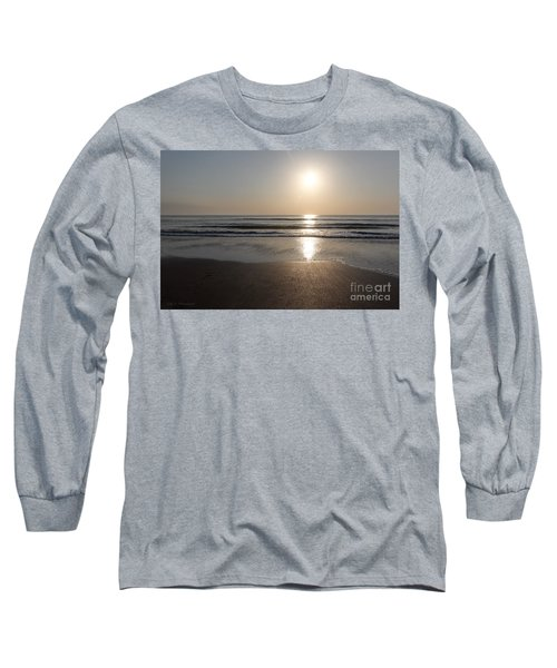 Beach At Sunrise Long Sleeve T-Shirt