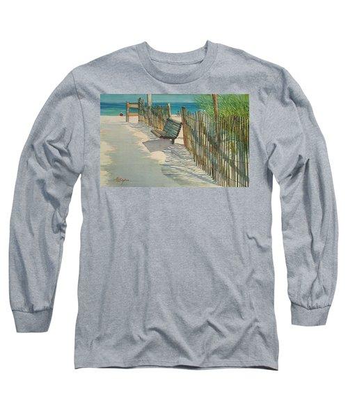 Beach Patterns Long Sleeve T-Shirt