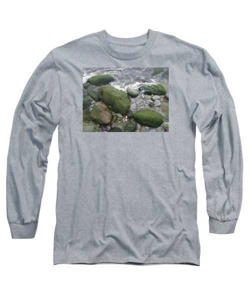 Beach Rocks Long Sleeve T-Shirt