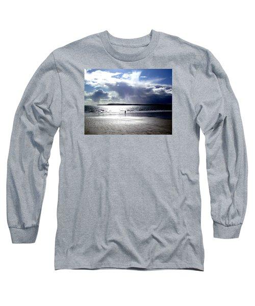 Lone Beach Walker Long Sleeve T-Shirt