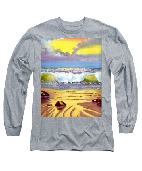 Beautiful Beach Long Sleeve T-Shirt