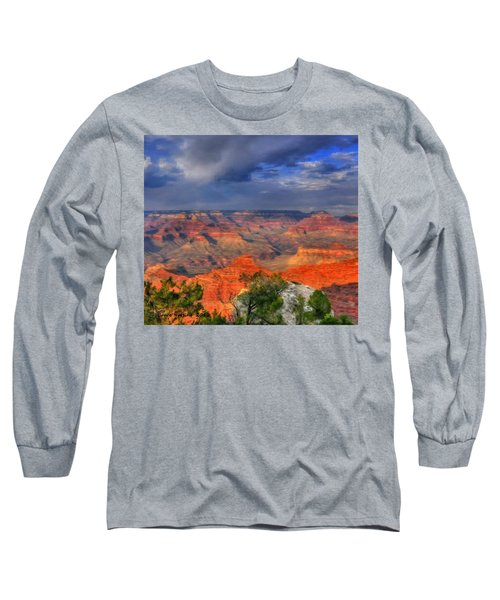 Long Sleeve T-Shirt featuring the painting Beautiful Canyon by Bruce Nutting