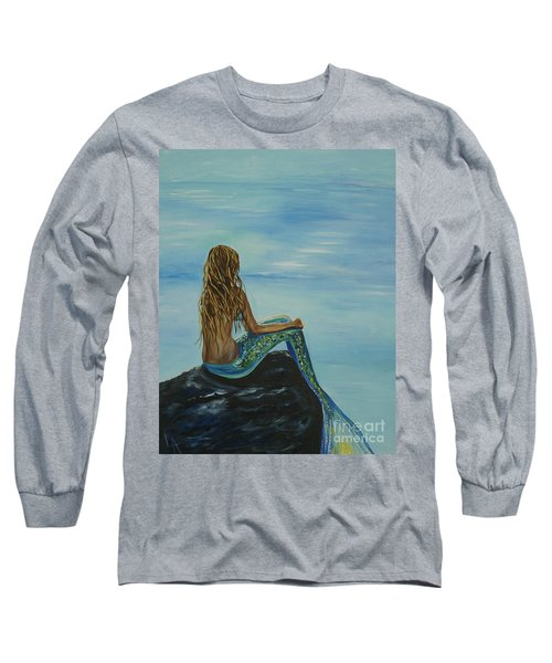 Beautiful Magic Mermaid Long Sleeve T-Shirt