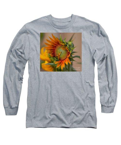 Beautiful Sunflower Long Sleeve T-Shirt by John  Kolenberg