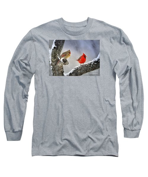 Beautiful Together Long Sleeve T-Shirt by Nava Thompson