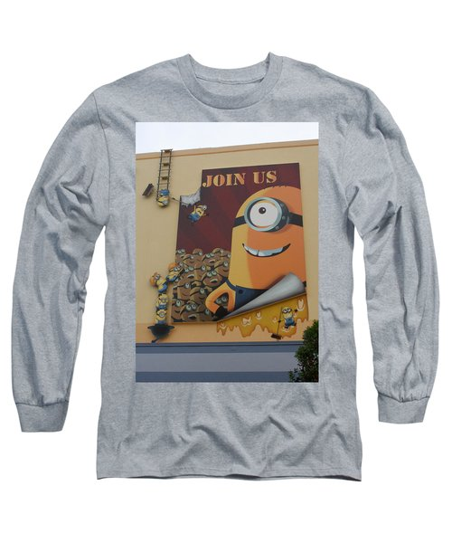 Become A Minion Long Sleeve T-Shirt
