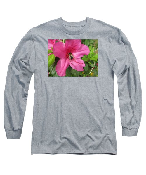 Bee Cause Long Sleeve T-Shirt by Deborah Lacoste