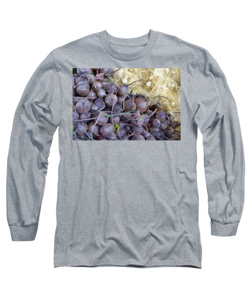 Beets And Mini Onions At The Market Long Sleeve T-Shirt