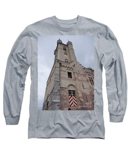 Belfry In Sluis Holland Long Sleeve T-Shirt by PainterArtist FIN