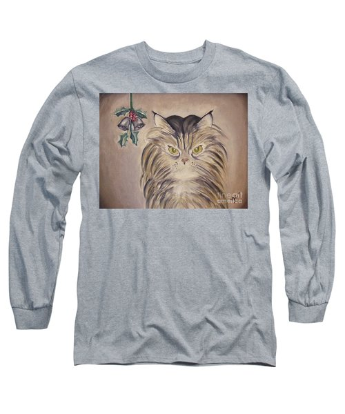 Belle With Silver Bells Long Sleeve T-Shirt by Victoria Lakes