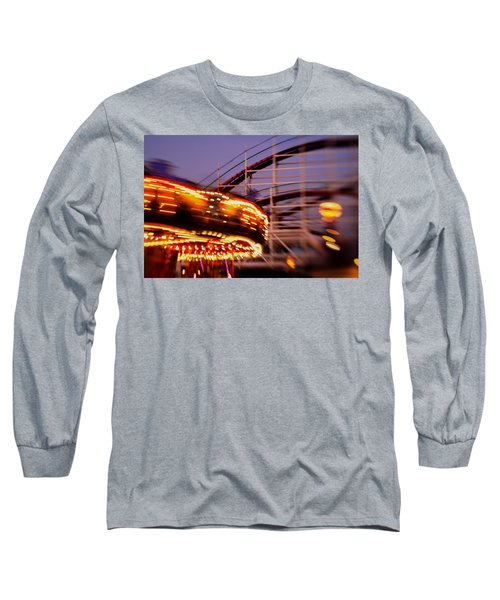 Did I Dream It Belmont Park Rollercoaster Long Sleeve T-Shirt