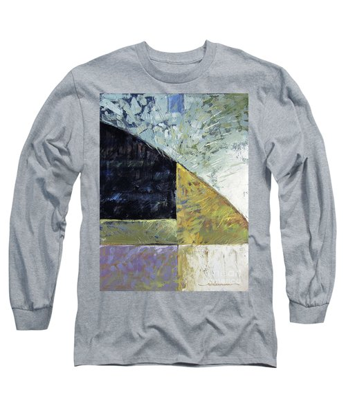 Bent On Abstraction Long Sleeve T-Shirt