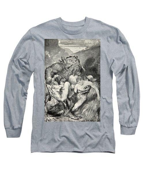 Beowulf Print Long Sleeve T-Shirt
