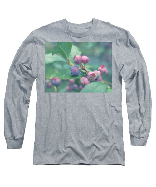 Berries For You Long Sleeve T-Shirt by Rachel Mirror