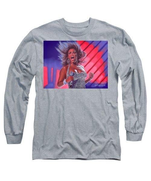 Beyonce Long Sleeve T-Shirt by Paul Meijering