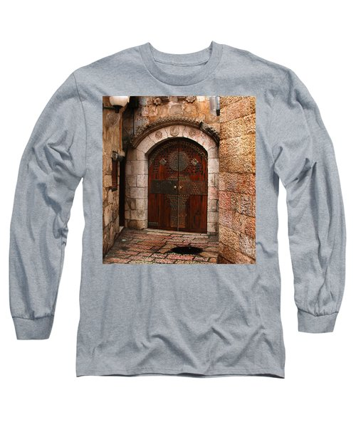 Door In Jerusalem Long Sleeve T-Shirt