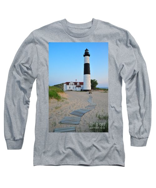 Big Sable Point Great Lakes Lighthouse Long Sleeve T-Shirt
