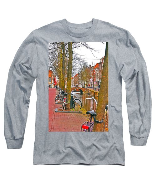 Bikes And Canals Long Sleeve T-Shirt