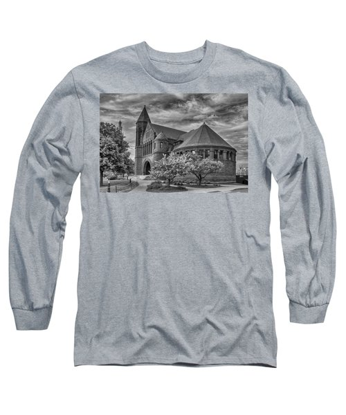 Billings Library At Uvm Burlington  Long Sleeve T-Shirt