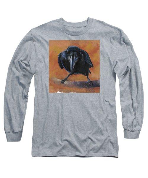 Bird  Watching Long Sleeve T-Shirt by Billie Colson